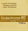 kodachrome 40 en noir et blanc ou sépia chez SUPER8FRANCE